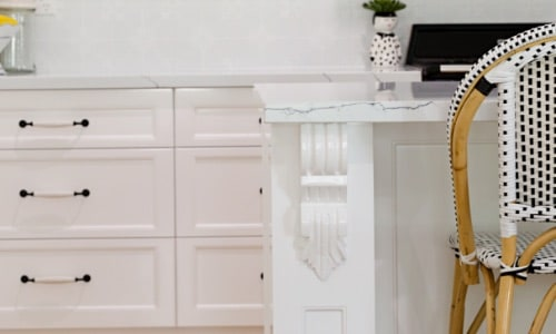 High Quality White Kitchen Cabinetry